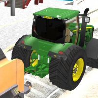 Friv Chained Tractor Towing Train Online