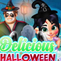 Friv DELICIOUS HALLOWEEN CUPCAKE DRESS UP Online