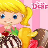 Friv Diana Ice Cream Online