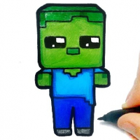 Friv Easy Kids Coloring Minecraft Online