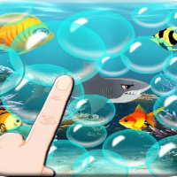 Friv Floating bubbles - Blue Ball 4 Online