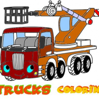Friv Funny Trucks Coloring Online