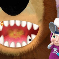 Friv Masha And The Bear Dentist Game Online
