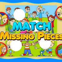Match Missing Pieces Kids Educational Game