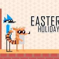 Friv Mordecai and Rigby Easter Holiday Online