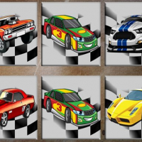 Friv Muscle Cars Memory Online