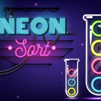 Friv Neon Sort  Puzzle - Color Sort Game Online
