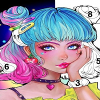 Friv Sweet Coloring: Color by Painting Game Online