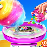 Friv Sweet Cotton Candy Shop: Candy Cooking Maker Game Online