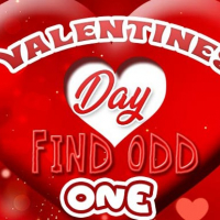 Friv VALENTINES DAY FIND ODD ONE OUT Online